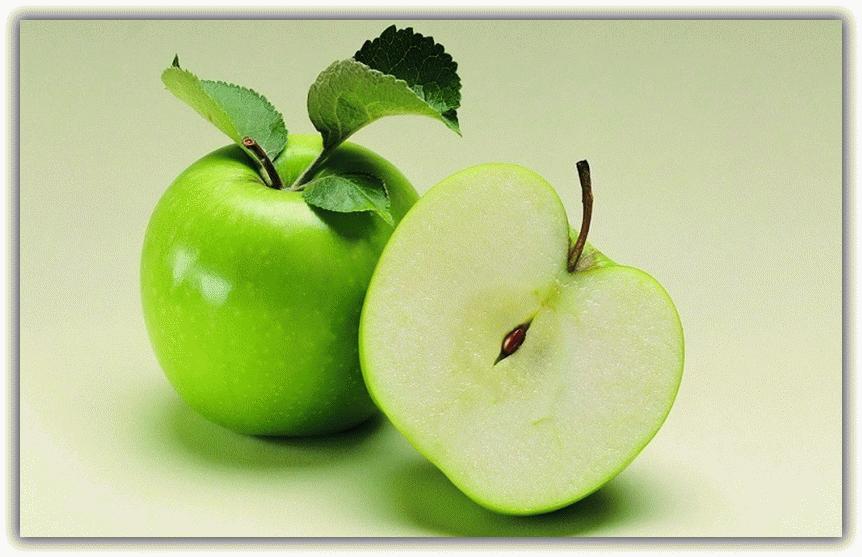 отворот с яблоком