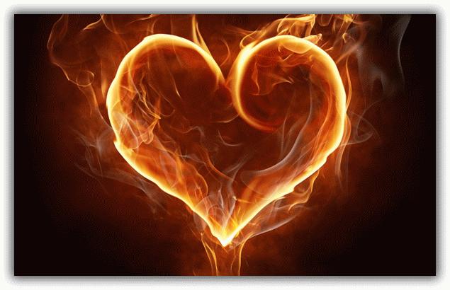 сердце в огне