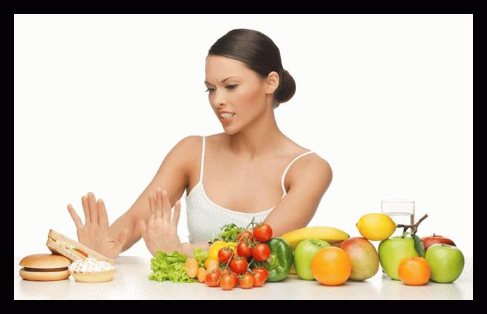 отворот от вредной еды
