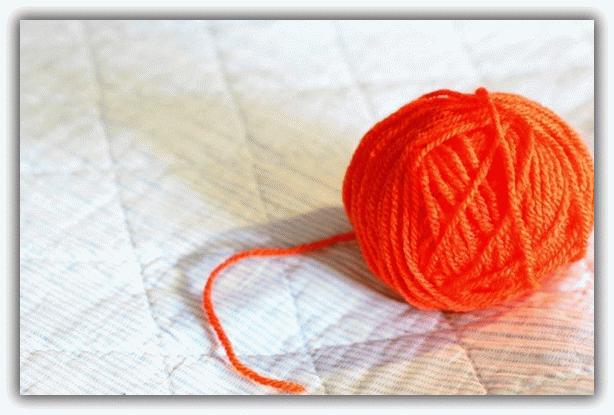 Как сделать из клубка ниток
