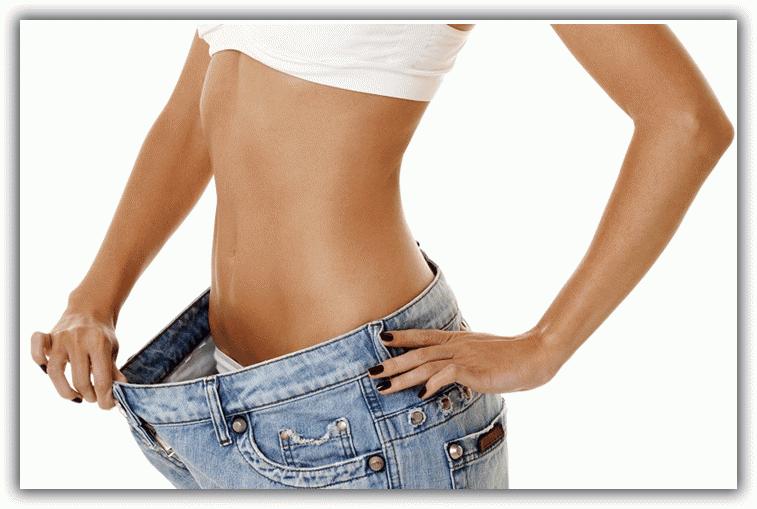 как убрать лишний жир на ляшках