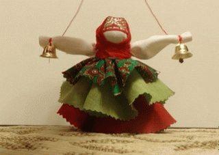 Кукла мотанка колокольчик пошагово