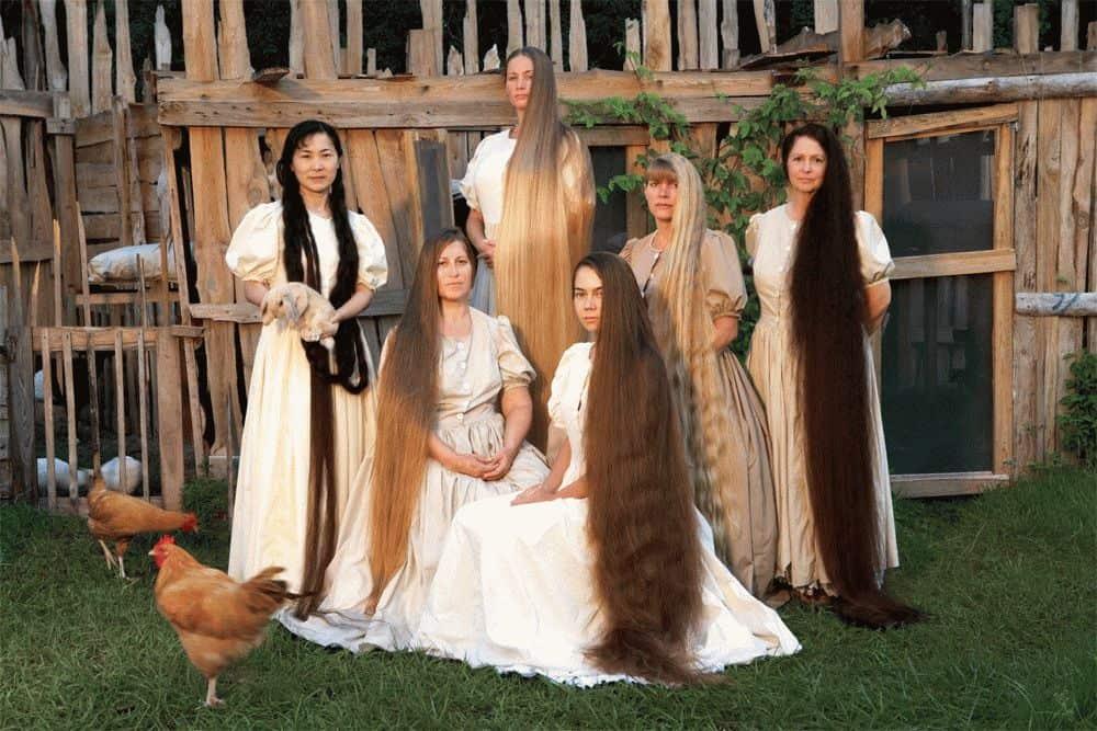 во сне видеть у себя длинные волосы