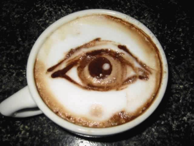 рисунок глаз